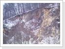 Hier ist einer von zwei nicht mehr benutzten Steinbrüchen Bolheims