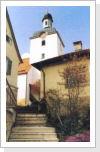 evangelische Kirche,   - erstmals urkundlich erwähnt 19.11.1320  - 16.Jahrhundert neu gebaut  - 1780 wurden Veränderungsarbeiten vorgenommen  - 1956-1957 Erneuerungsarbeiten durchgeführt