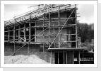 katholischer Kirchenbau seitlich 1960