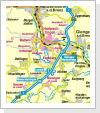 Lageplan von Bolheim auf Straßenkarte